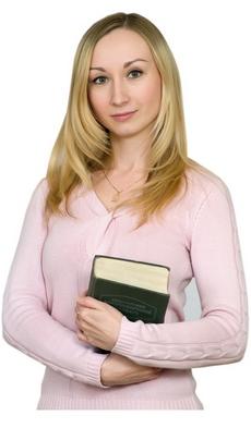 Елена Жабина - специалист по переводу документов в Москве